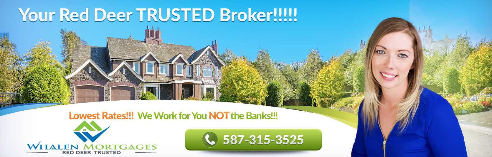 Red Deer Mortgage Broker : Low Rates
